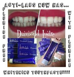 """""""Diamond Lustre Whitening Toothpaste by Acti-Labs"""" by style-by-alana on Polyvore featuring beauty, shine, teeth, ActiLabs and actilife"""