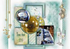 Bribri62-Scrap: Ma page avec le Kit Happy New Year de Kittyscrap