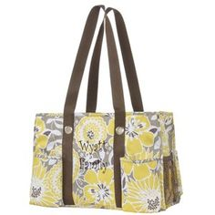 Thirty One Organizing Utility Tote Awesome Blossom No Monogram