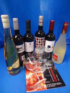 Vins aportats per la DO Tarragona per al projecte Biblioteques amb DO.