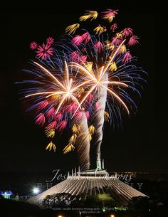 Space Mountain Fireworks, Magic Kingdom, #Orlando. Get Orlando flights here > http://www.globehunters.com/Flights/orlando-Flights.htm