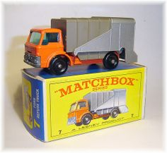 Matchbox 7c Ford Refuse Truck (1966)