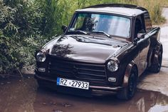 Trabant with a turbocharged 1.8 L 20v inline-four and AWD drivetrain from an Audi TT