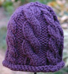 Cheryl Beckerich Knits - 1039 - Cozy Twist Hat-child size