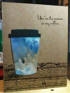 Mindy Cottingham: SU Coffee Cafe & Hardwood, TPC Studio Coffee Cafe, Ranger Distress Paints