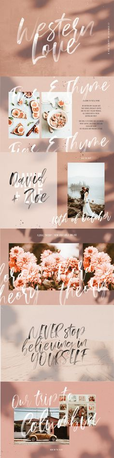 Western Love | SVG Script by Sinikka Li on @creativemarket