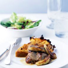 Roast Pork Tenderloin with Apples and Cider Sauce Recipe