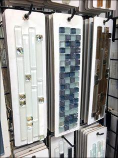 Tile Sample Cards by Grip Display Hook Main Studio Design, House Design, Victor Design, Granite Samples, Stone Siding, Bedroom Furniture Design, Showroom Design, Sea Glass Beach, Granite Stone