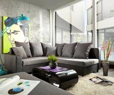 Decoração: 20 salas com sofá cinza - Cores da Casa