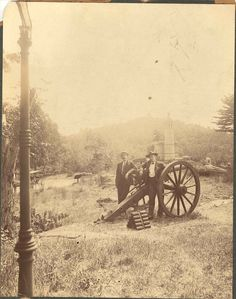 Little Round Top in 1896.