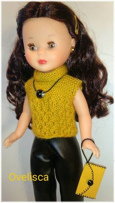 Knitting Dolls Clothes, Doll Clothes, Barbie, Crochet Hats, Casual, Fashion, Colourful Art, Doll Patterns, Doll Dresses