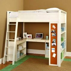Kids Bunk Beds: Study Lofts - Pottery Barn Sleep & Study Loft