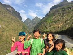 Local Vietnamese kids. Ha Giang, North Vietnam