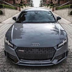 2017 Audi TT-RS Coupe  - (@rodeoand5th  by @auditography)  via LUXURY LIFESTYLE MAGAZINE OFFICIAL INSTAGRAM - Luxury  Lifestyle  Culture  Travel  Tech  Gadgets  Jewelry  Cars  Gaming  Entertainment  Fitness