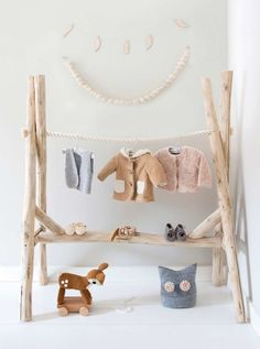 // mommo design: CLOTHING RACKS IDEAS