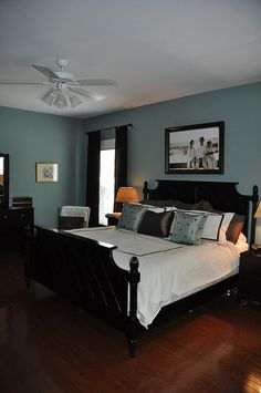 Agave -- Behr Premium Plus.  My room isn't super bright like all the paint sample pics show so this is prob more realistic.