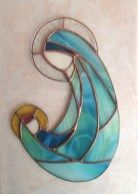 Stunning Christmas Ornament With Stained Glass 17