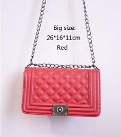Luxury Quilted Designer Inspired Handbag (4 colors, 2 sizes)