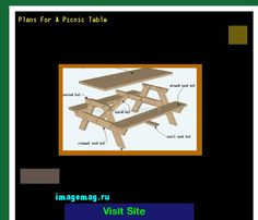 Plans For A Picnic Table 170657 - The Best Image Search