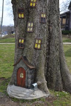 Wie wir Nashville in 68 Stunden gemacht haben - Cheryl Korba Long - Diy - List of the most beautiful garden Fairy Tree Houses, Fairy Garden Houses, Gnome Garden, Garden Crafts, Diy Garden Decor, Garden Projects, Art Crafts, Most Beautiful Gardens, Nashville