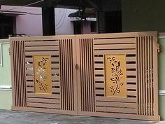 Modern Main Gate Designs, Iron Main Gate Design, Latest Main Gate Designs, Home Gate Design, Gate Wall Design, Grill Gate Design, House Main Gates Design, Front Door Design Wood, Steel Gate Design