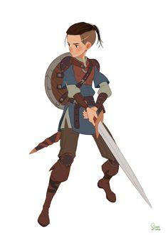 "personal project - Robin Hood2015. ""Will"", Hong SoonSang on ArtStation at https://www.artstation.com/artwork/xDxXR"