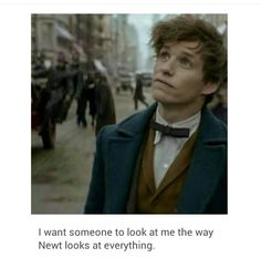 aaaa Newt is so adorable <<< I never understood the thing about having tiny versions of your favourite characters but NOW I SEE THE LIIIIGGGHHHTTT a tiny Newt would be the best