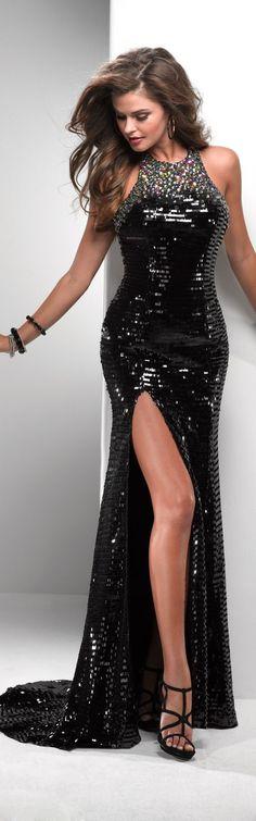 Flirt high couture ~ elegant and very sexy. Women's Dresses, Elegant Dresses, Pretty Dresses, Fashion Dresses, Formal Dresses, Dresses 2014, Women's Fashion, Popular Dresses, Mode Glamour