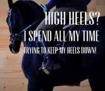 Def true! High heels? It's a joke ?