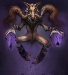 Nightmarish Pokemon Art by Gavin Mackey. Some of these are seriously scary.