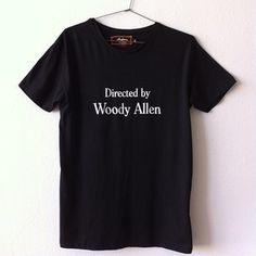 Image of WOODY ALLEN BLACK TEE
