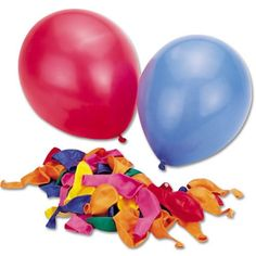 Perfect Products Co Latex Balloons, 9-Inch (Pack Of 50)