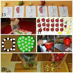 apple activities preschoolers