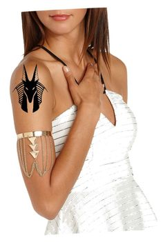 """Anubis tattoo"" by ocean-826 on Polyvore"