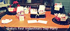 House of Burke: Baby's First Valentine's Day Party!