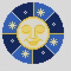 Chicago Cubs Logo, Hama Beads, Coaster Set, Team Logo, Logos, Art, Art Background, Logo, Kunst