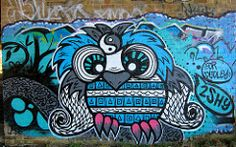 Graffiti Under the M40 114 (Terterian - A million+ views, thanks.) Tags: street uk england urban streetart abstract colour london art painting underpass graffiti freedom design graphics mural gallery grafitti motorway artistic britain expression contemporary secret creative surreal arches can hidden talent revolution owl graffitti illegal gb rebellion dudley spraypaint surrealist organic alphabet lettering february canister derelict wasteland m40 wisom 2shy fordudley2012
