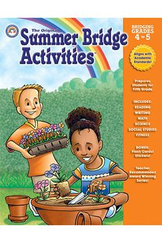 Summer Bridge Activities Book Gr 4-5 by Carson Dellosa $8.05