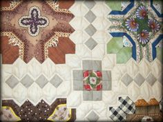 Every Stitch ....: Patchwork of the Crosses