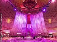 Gotham Hall, New York and other beautiful NYC wedding venues. Detailed info, prices, photos for Midtown wedding reception locations. Nyc Wedding Venues, Wedding Venue Decorations, Wedding Reception Locations, New York Wedding, Reception Halls, Perfect Wedding, Dream Wedding, Wedding Pins, Wedding Ideas