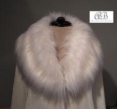 Winter warmth.... Silk Velvet luxury lined in soft satin and a collar of faux fur. Www.arynverebride.com AUD$280.   #wedding #bride #winter #fauxfur #cape