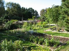 findhorn gardens -
