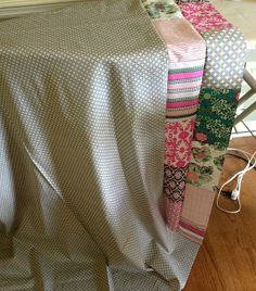 Super helpful tutorial on how to put backing and batting on a quilt!