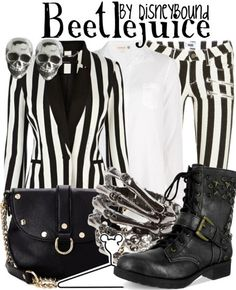 HALLOWEEN RULE BREAKER ( I would wear this if I could rock stripes!)
