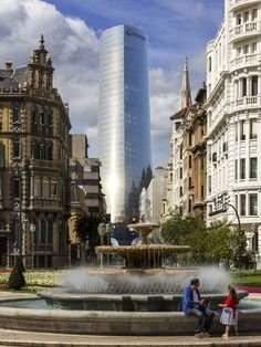 Torre Iberdrola, Bilbao, Spain - first tower in Europe to achieve LEED Platinum certification | Pelli Clarke Pelli