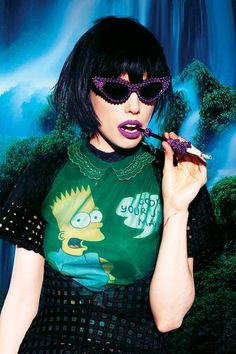 Alice Glass on Technology, Confrontation, & Her Style Icon - Bullett Media Grunge, Steam Punk, Festivals, Alice, Crystal Castle, Kawaii, Pastel Goth, Her Style, Style Icons