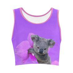 Koala Women's Sports Bra. FREE Returns. #artsadd #tops #koala