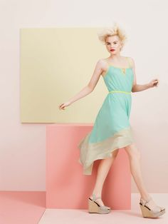 willow & clay high-lo dress