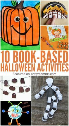 10 Cute Crafts Based on Halloween Books