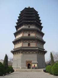 Chinese pagodas